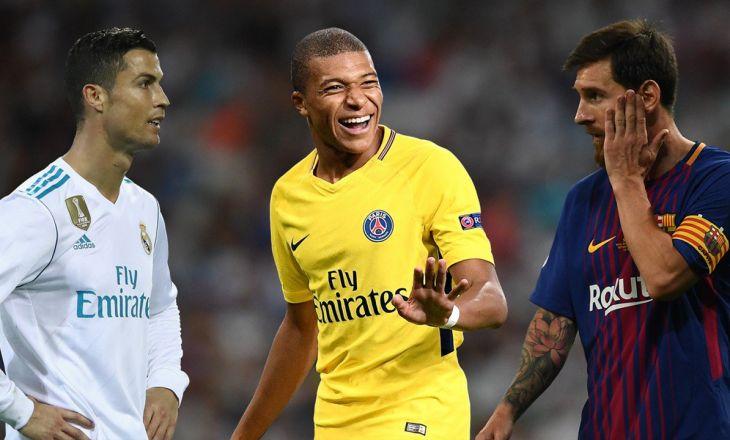 Роналду не вошел в топ-20 самых дорогих футболистов мира, Месси – только...