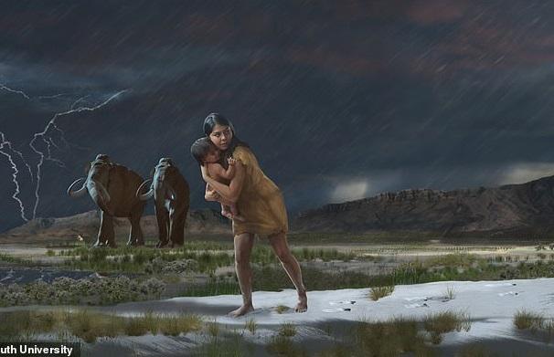 В США обнаружили следы доисторической матери, спасавшей ребенка от хищни...