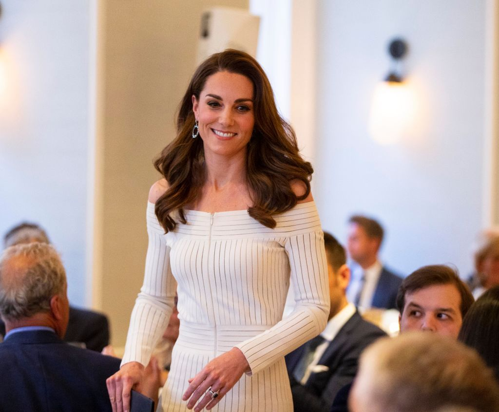Кейт Миддлтон посетила благотворительный гала-ужин в Лондоне