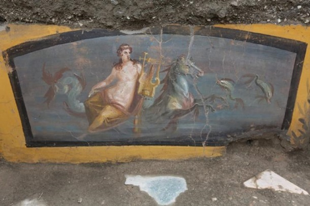 В Помпеях нашли античный фастфуд с эротической вывеской