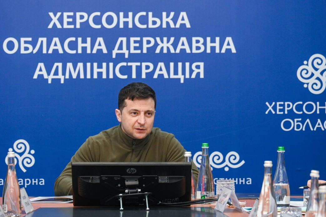 Зеленский созывает новое заседание СНБО после поездки к админгранице с Крымом