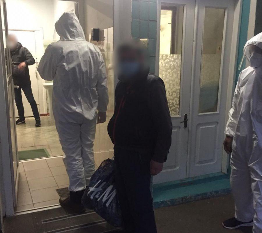 В Харькове душевнобольной с коронавирусом сбежал из больницы
