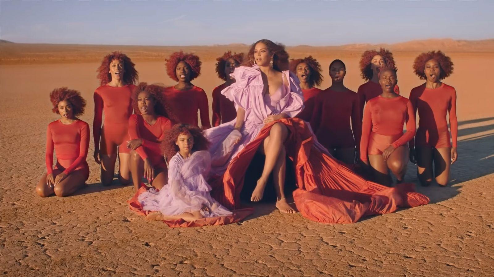 Любовное послание к Африке: Бейонсе презентовала клип на саундтрек из му...