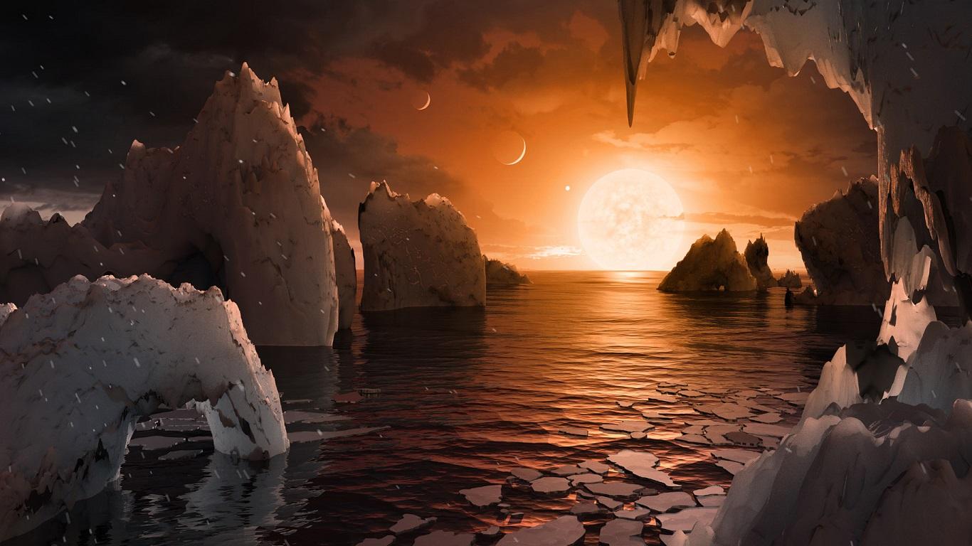 От Венеры до Урана. NASA показало, какими бывают закаты в других мирах (...