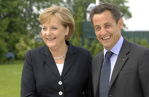 Меркель и Саркози примирили историю