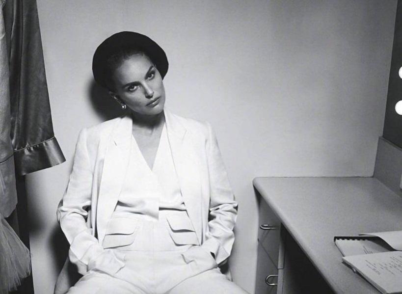 Натали Портман снялась в нуарной фотосессии для австралийского Vogue