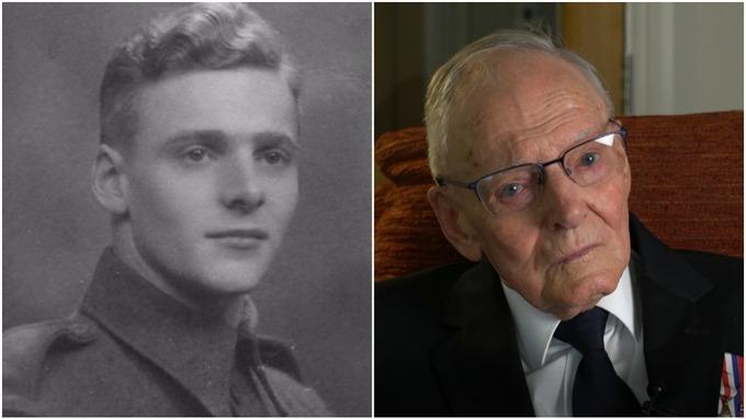 В годовщину высадки в Нормандии свой прыжок с парашютом повторил 95-летн...