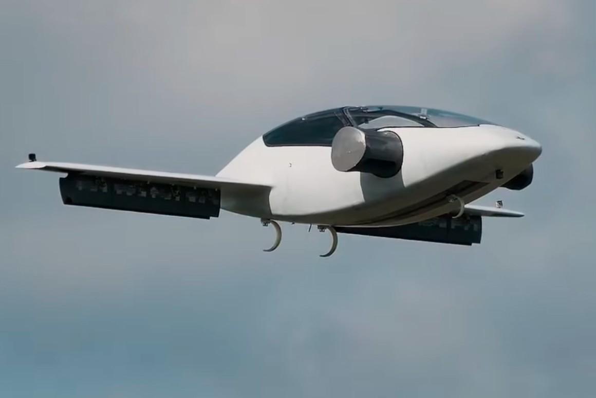 Электросамолет для воздушного такси показал новые виражи в небе