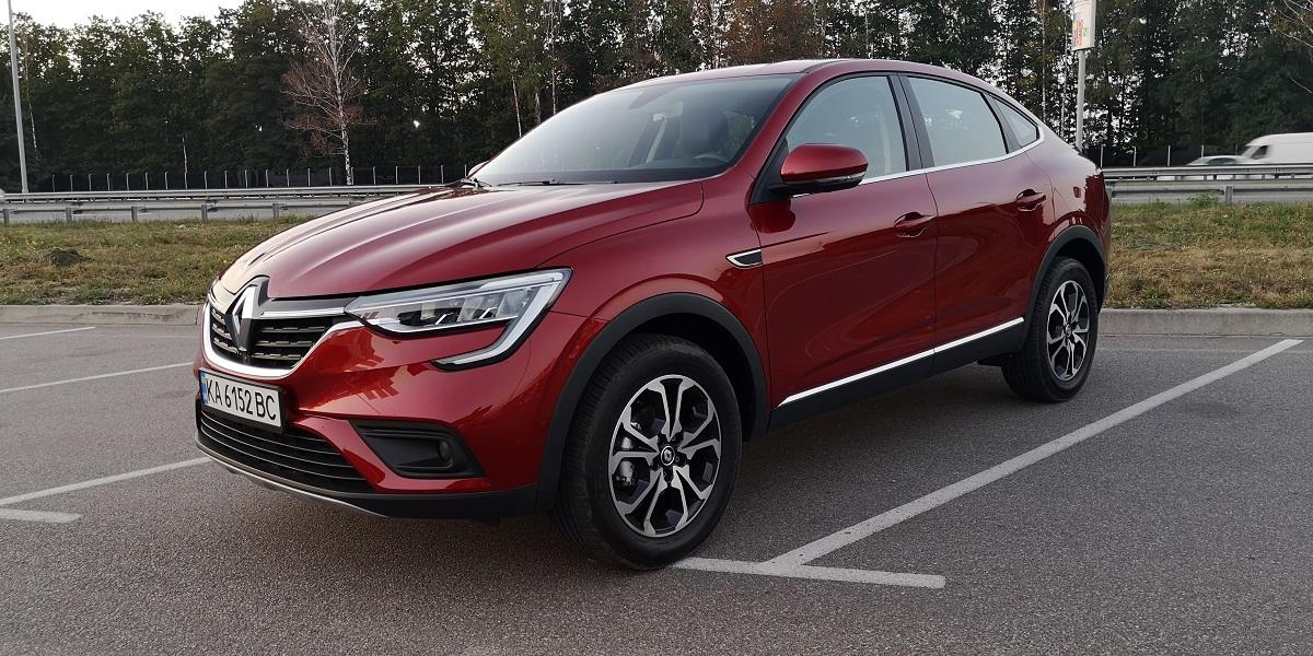 Купе-кроссовер Renault Arkana презентовали в Украине. Обзор новой модели...