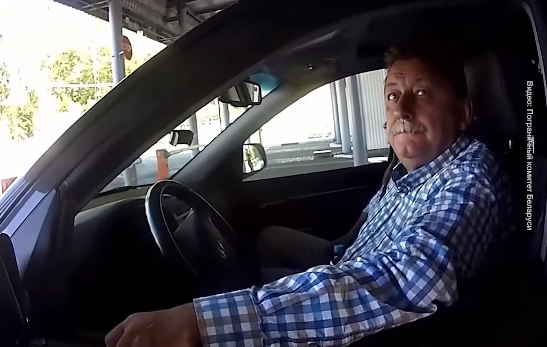 Появилось видео, как обыскивали на границе машину украинского посла в Бе...