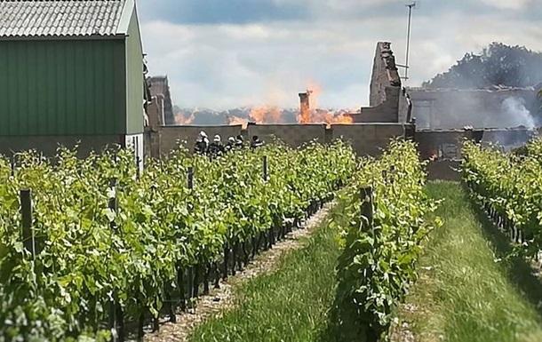 Во Франции сгорели 250 тысяч литров коньяка