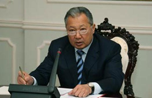 Бакиев пока не планирует возвращаться в Киргизстан