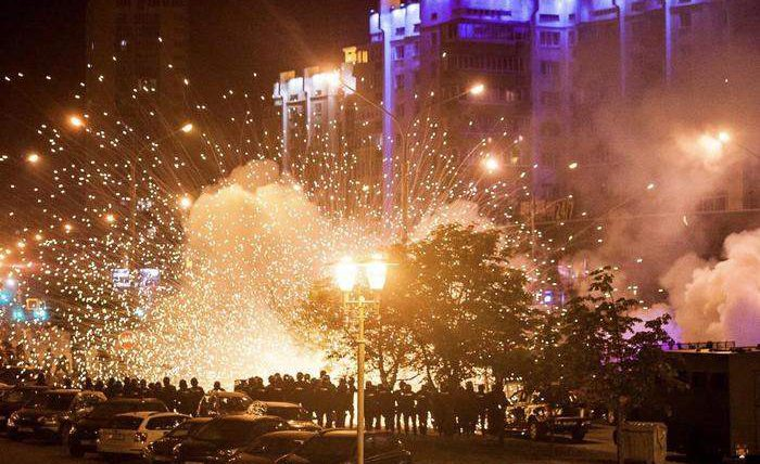 В Беларуси запретили продажу фейерверков на фоне протестов