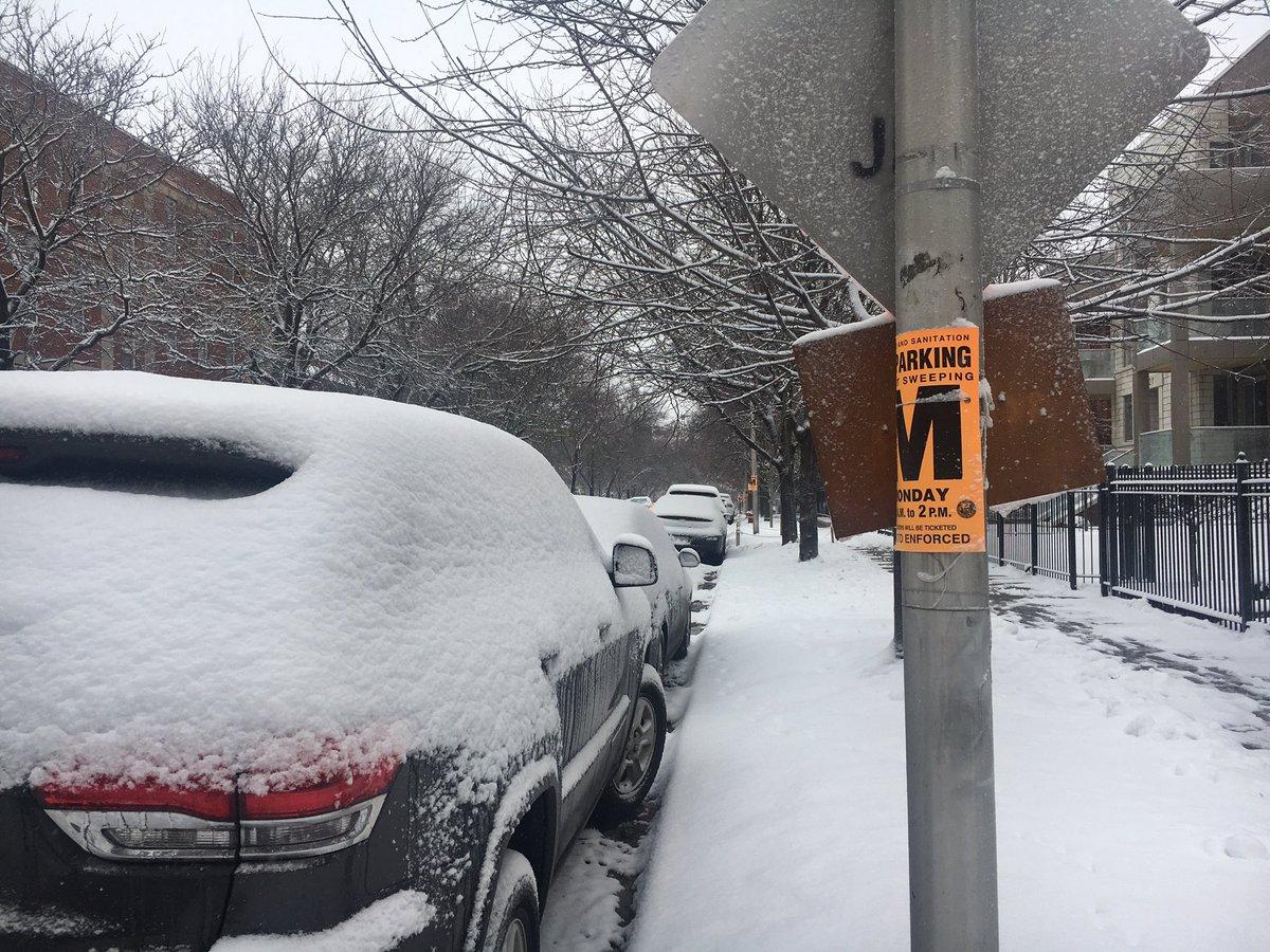 В Чикаго отменяют рейсы и закрывают школы из-за снегопада