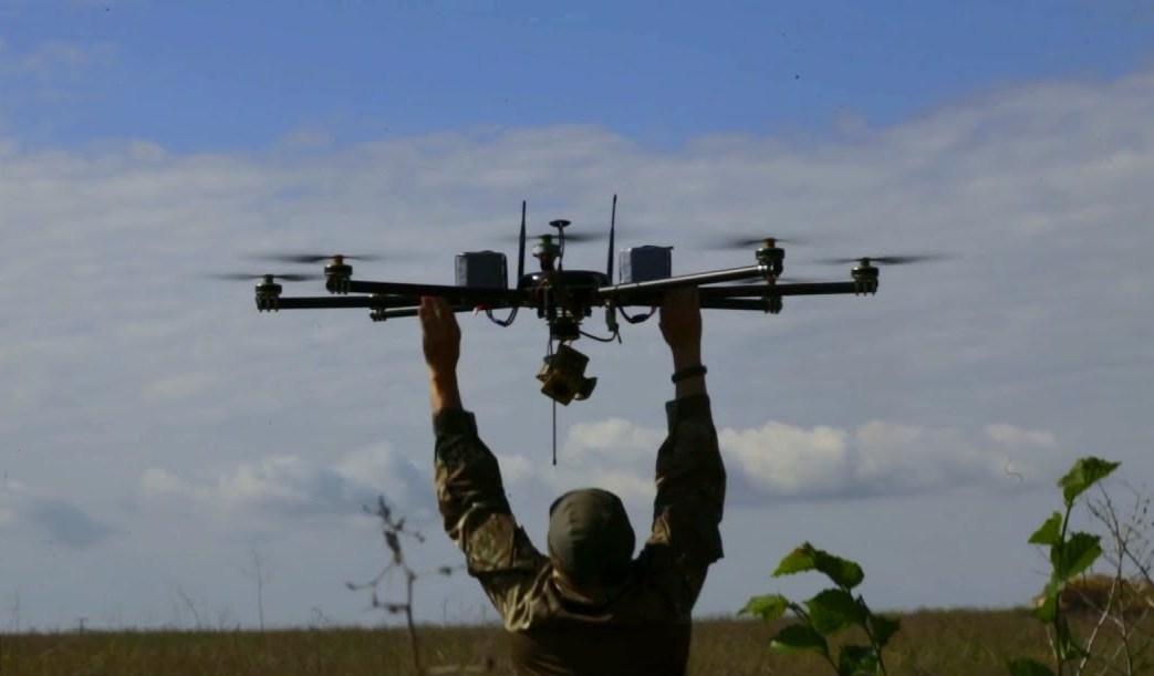 На Донбассе запретили использовать квадрокоптеры