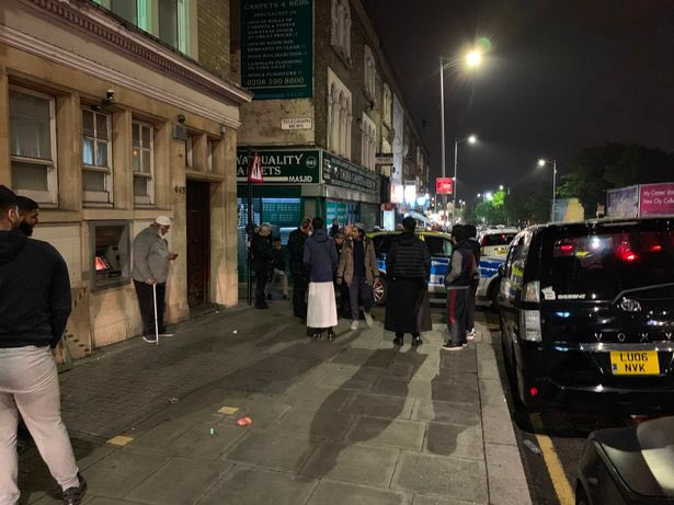 Стрельба в лондонской мечети