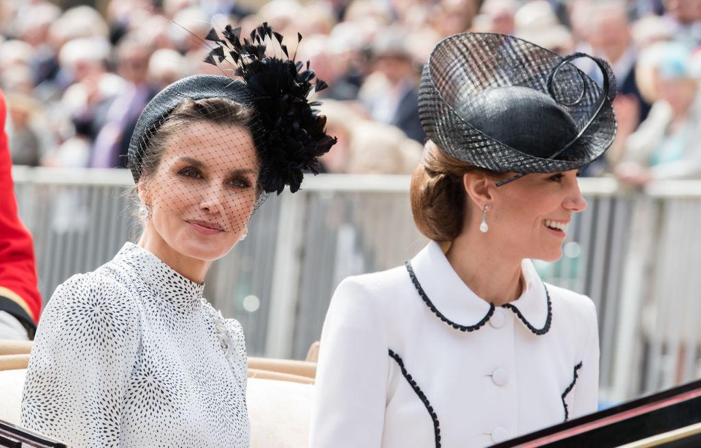 Кейт Миддлтон встретилась с королевой Летицией и королевой Максимой