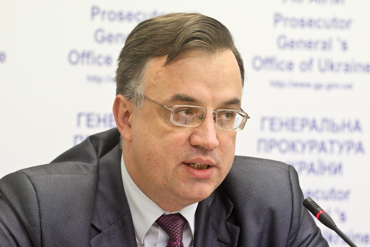 Рябошапка уволил своего первого заместителя Севрука