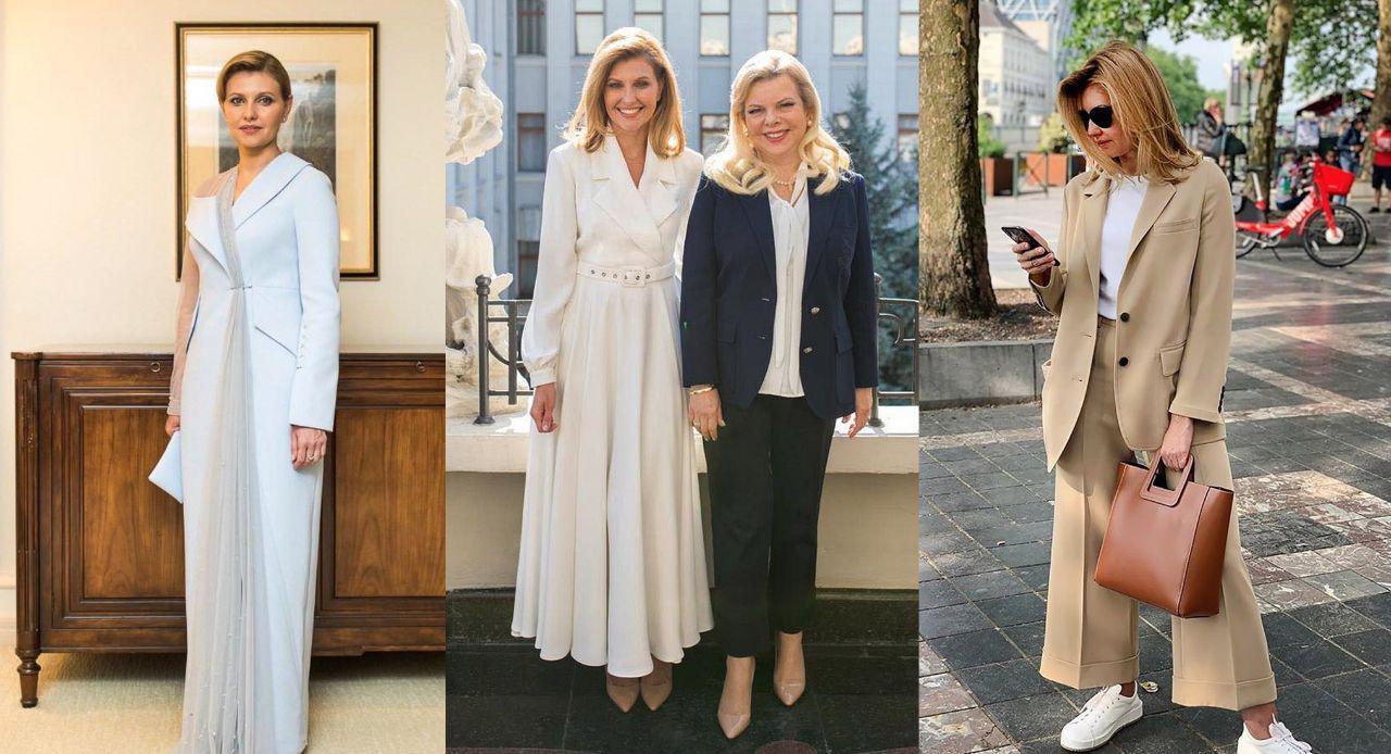 Первая леди Украины. Лучшие модные образы Елены Зеленской - 2019
