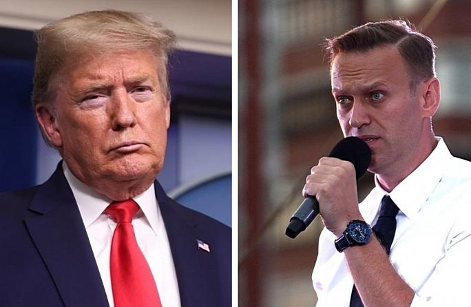 Трамп ожидает доклад спецслужб по отравлению Навального