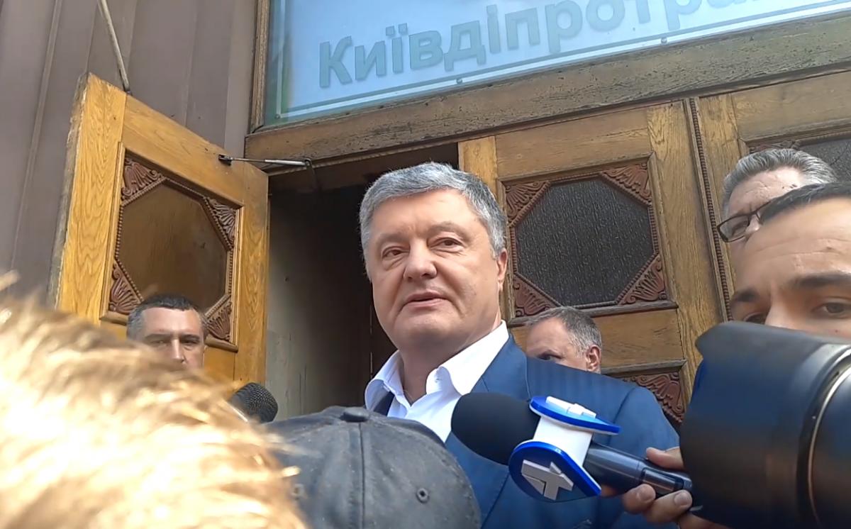 Суд разрешил принудительный привод Порошенко на допрос 10 июня