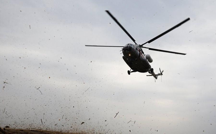 В Казахстане потерпел крушение военный вертолет