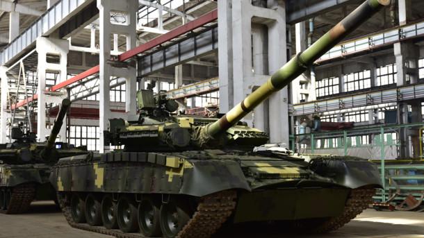 В Украине для ВСУ модернизировали танк Т-80