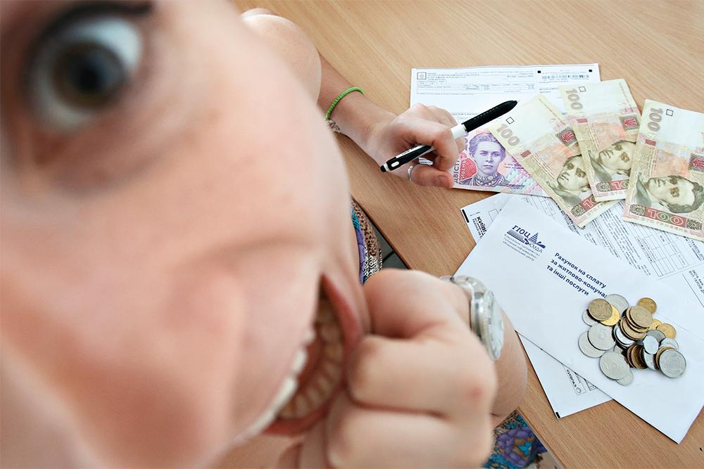 платежка, услуги ЖКХ, постановочное фото