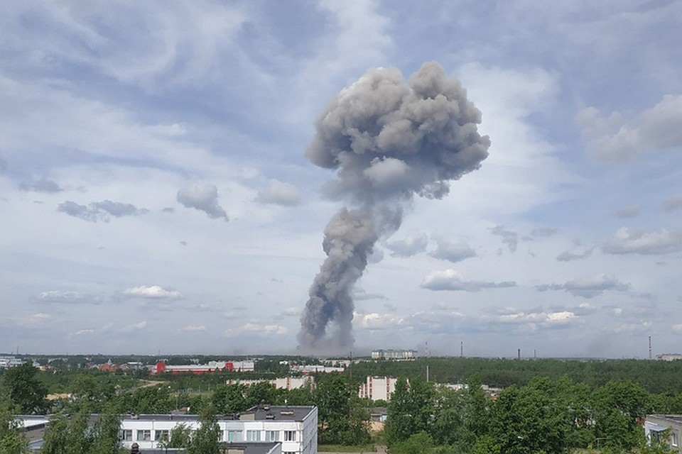 В России прогремел взрыв на заводе боеприпасов, есть пострадавшие