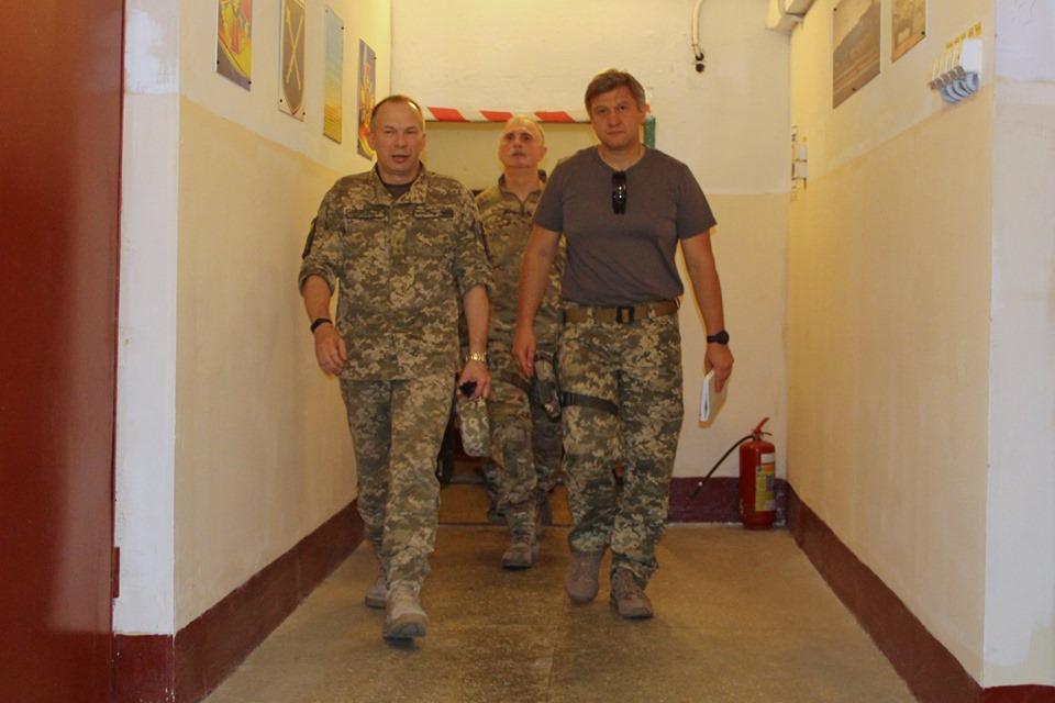 Делегация СНБО во главе с Данилюком посетила Донбасс
