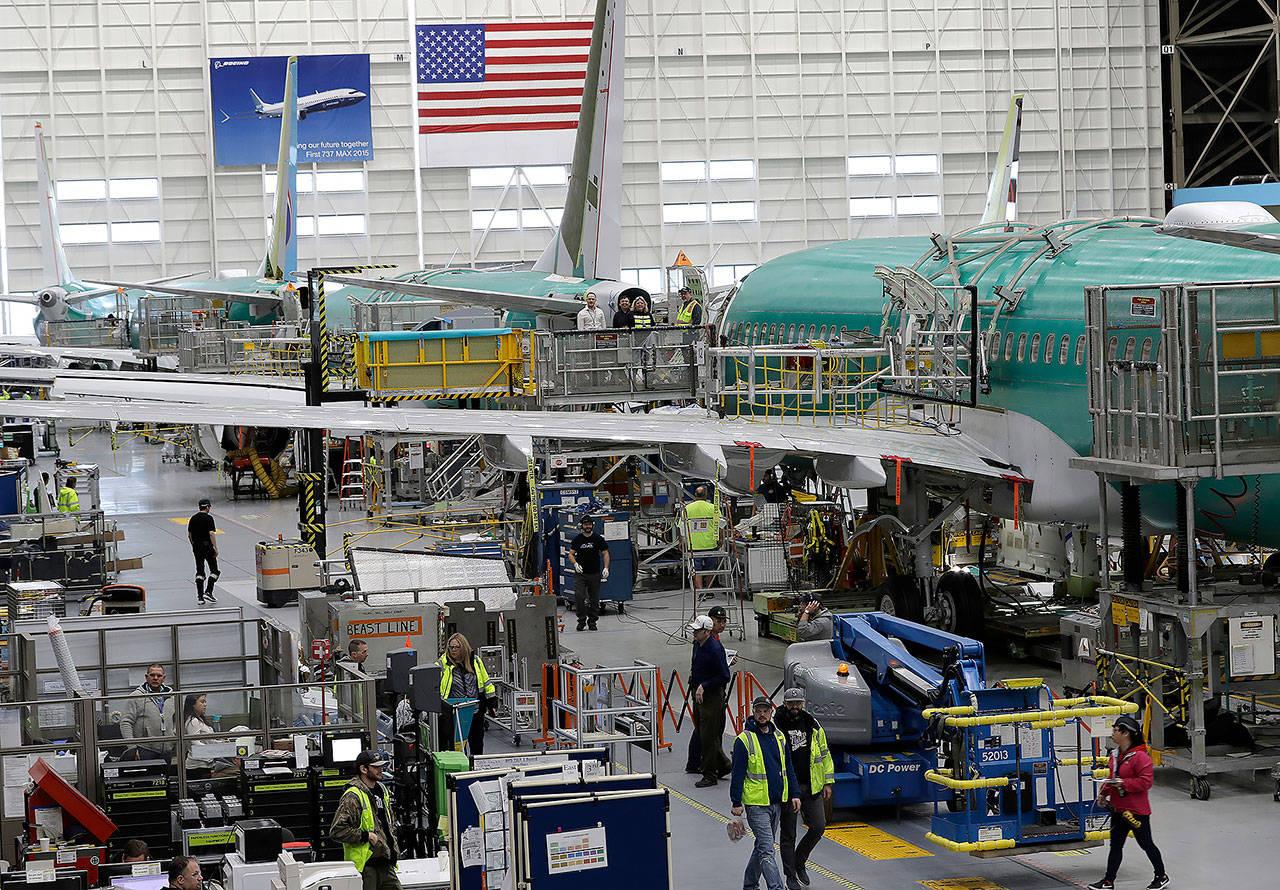 Boeing объявил об увольнении 12 тыс. сотрудников