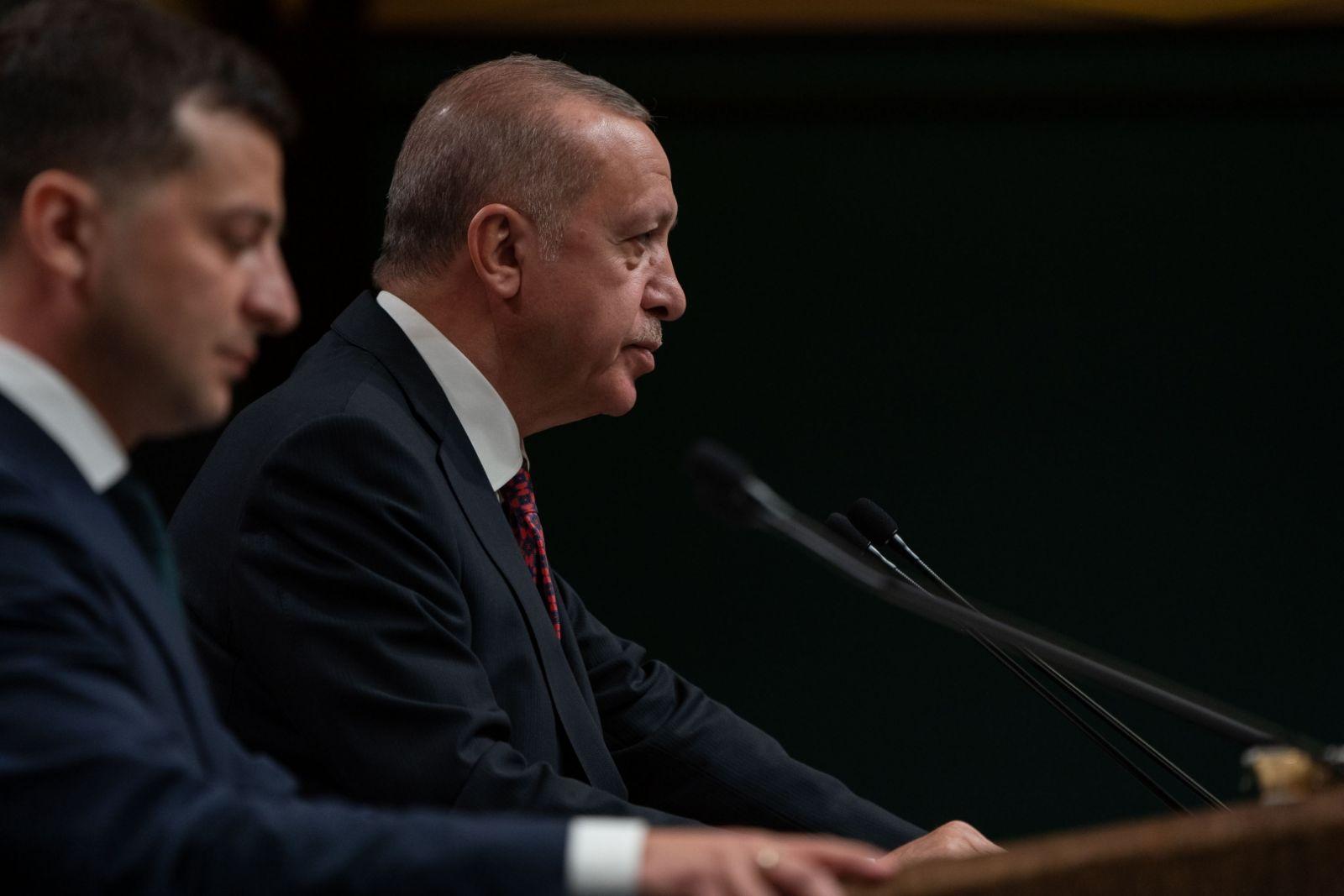 Эрдоган по телефону рассказал Зеленскому, как ездил в Россию
