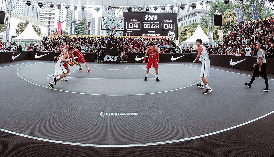 На олимпиаде в Токио пройдет баскетбольный турнир в формате 3x3