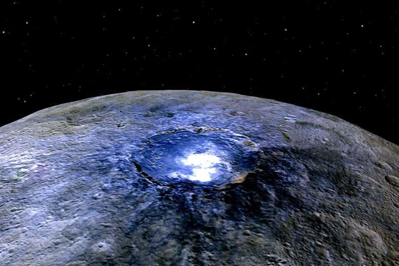 Карликовая планета с секретом. Под поверхностью Цереры нашли океан с сол...