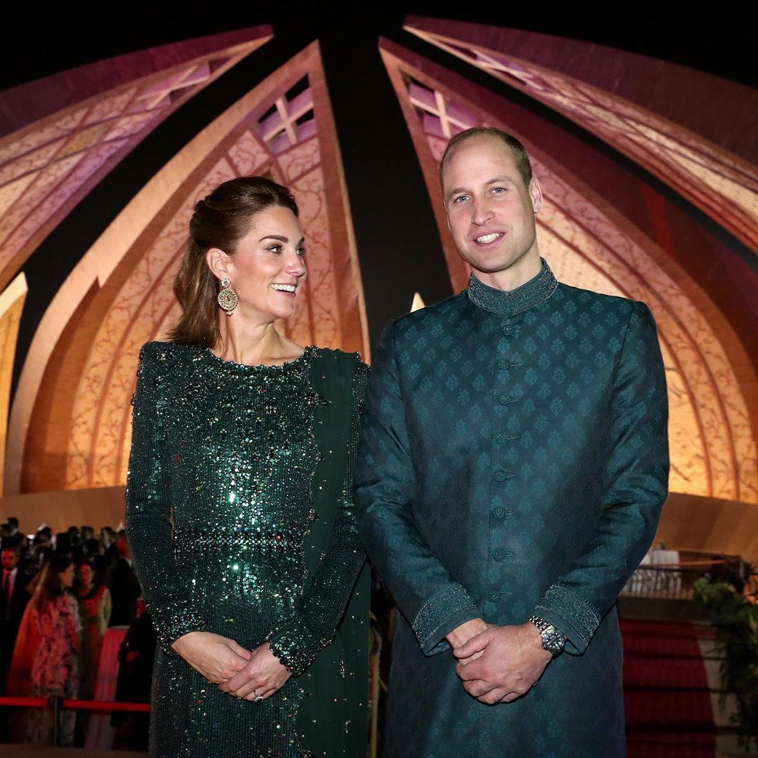 Кейт Миддллтон, принц Уильям, визит герцогов Кембриджских в Пакистан, фото, образы Кейт Миддлтон
