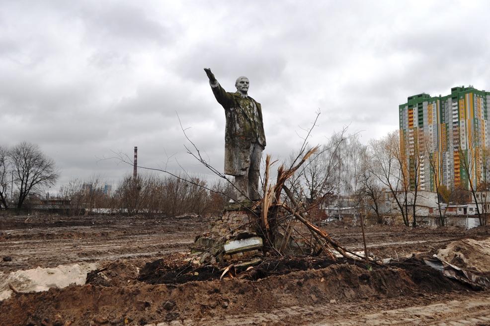 В Киеве нашли последний памятник Ленину