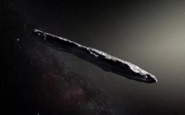 Не одни во Вселенной. Ученые не исключают, что межзвездный объект Oumuam...