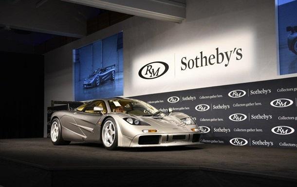 Спортивный автомобиль McLaren продан на аукционе за рекордные 19,8 млн долларов