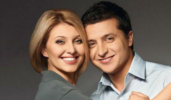 Елена Зеленская не знала, что муж объявит о выдвижении в президенты в но...