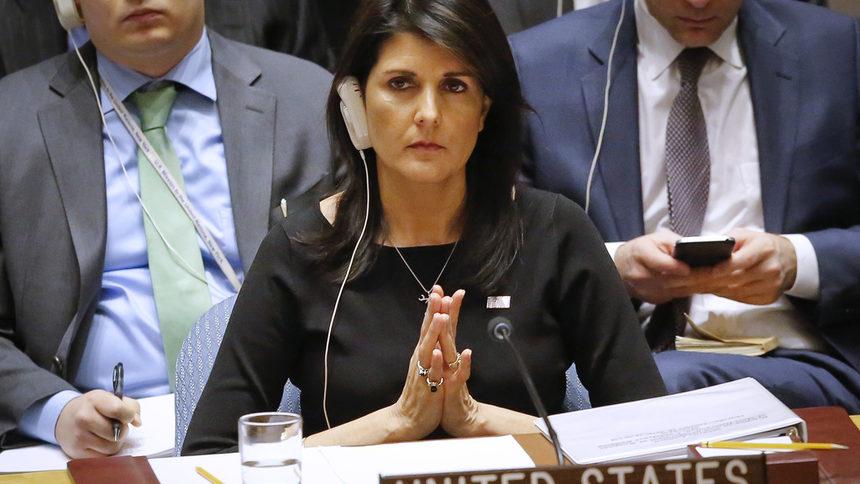 ООН просто смотрела, когда Россия вторглась в Украину, - Ники Хейли