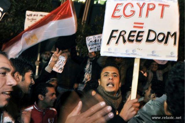 """Власти Египта боятся повторения """"арабской весны"""", в стране заблокирован..."""