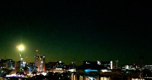 В небе над Австралией взорвался метеорит размером с автомобиль