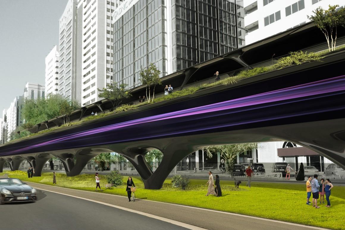 HyperloopTT показала, как будут выглядеть городские транспортные тоннели...