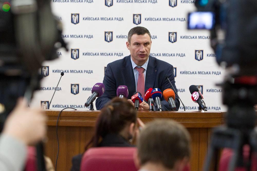 Киев лидирует по ремонту дорог в Украине, - Кличко