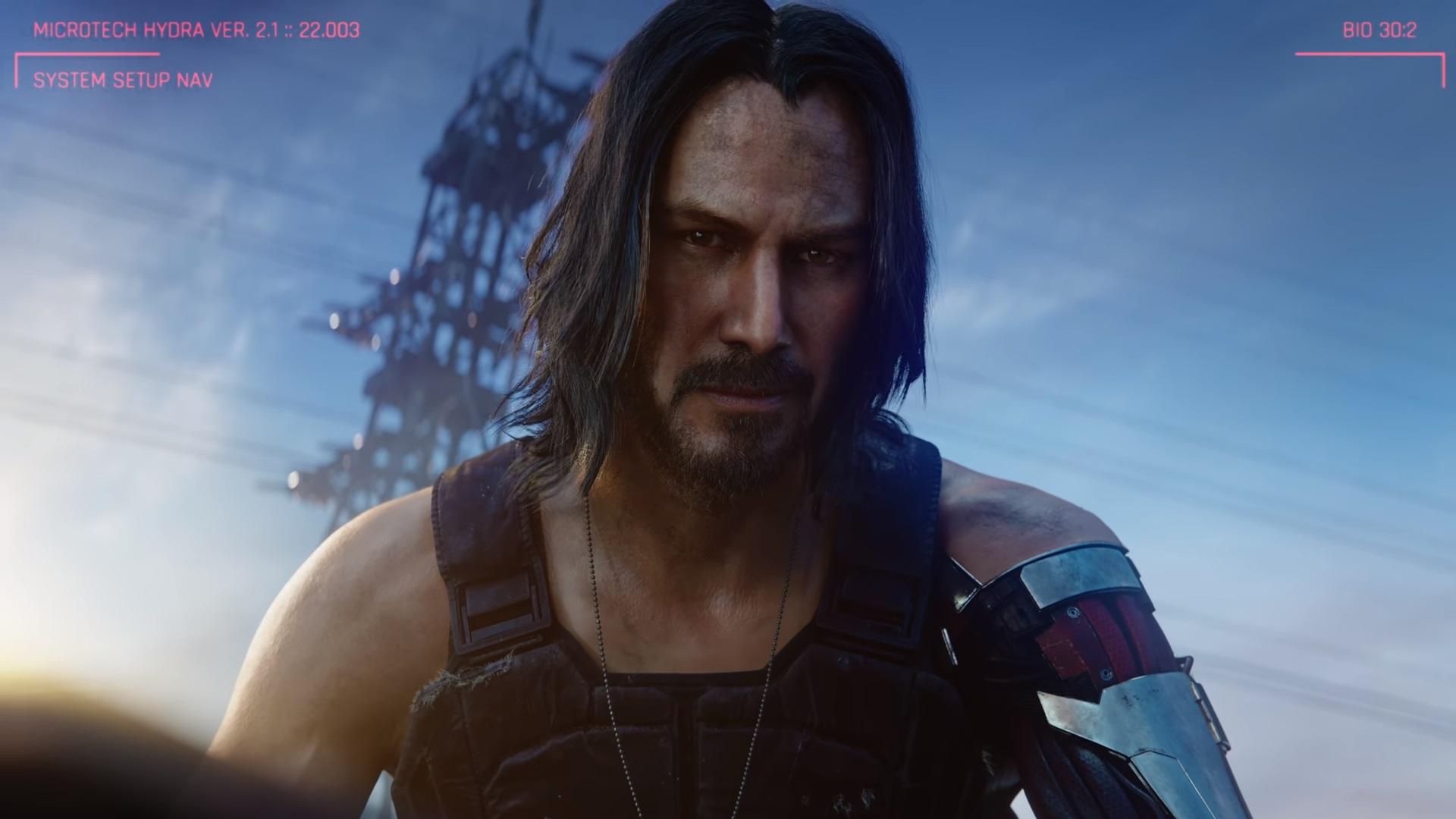 Киану Ривз станет героем игры Cyberpunk 2077
