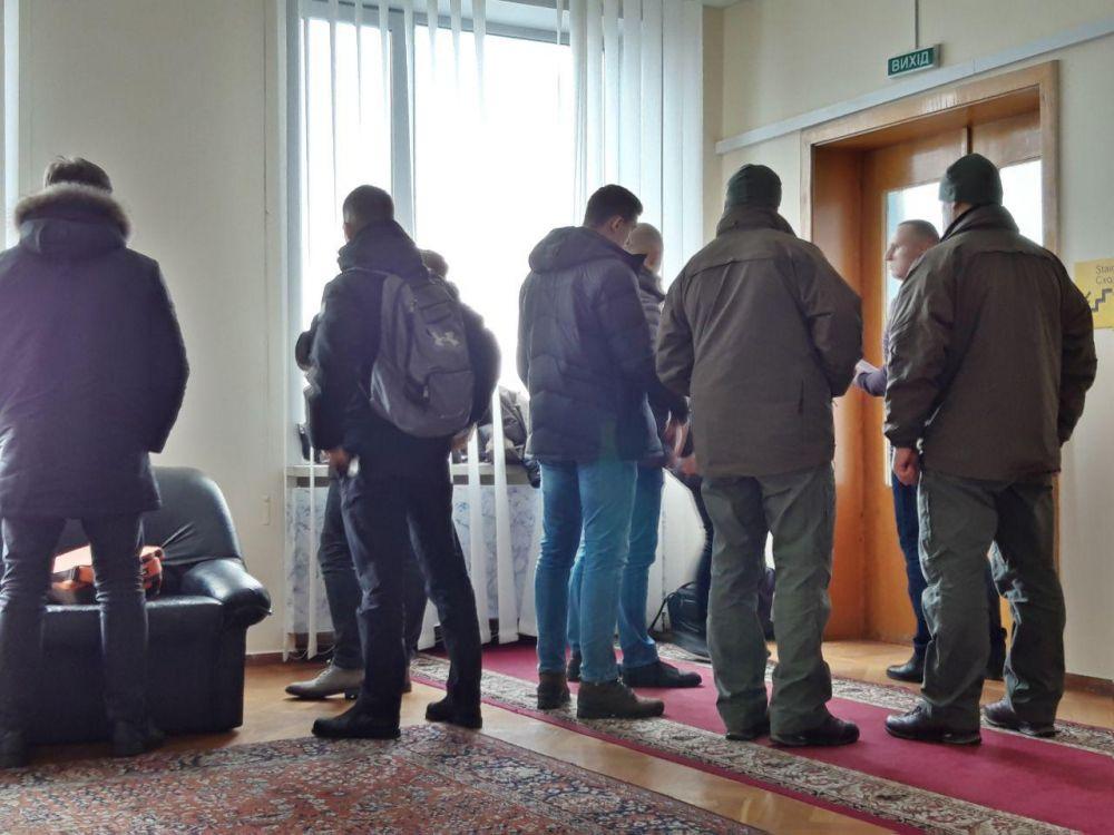 В Полтавскую облгосадминистрацию явились детективы НАБУ