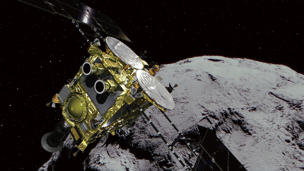 Хаябуса-2 упаковала пробы грунта с астероида Рюгу для отправки на Землю