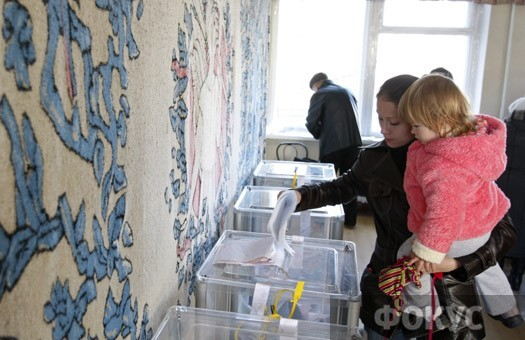Сегодня в Украине повторное голосование на местных выборах