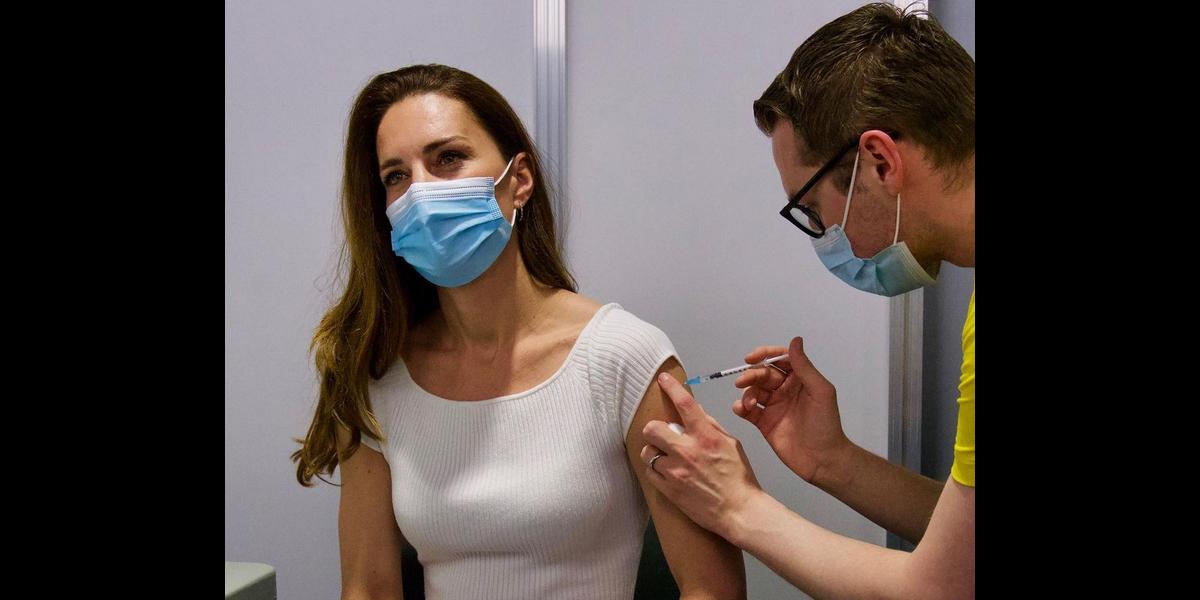 Кейт Миддлтон вакцинировалась от коронавируса (фото)