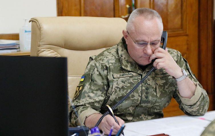 Главнокомандующий ВСУ Хомчак заразился коронавирусом, – СМИ
